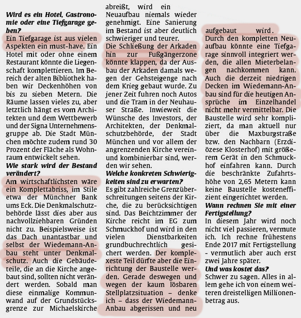 H0 Interview Abendzeitung