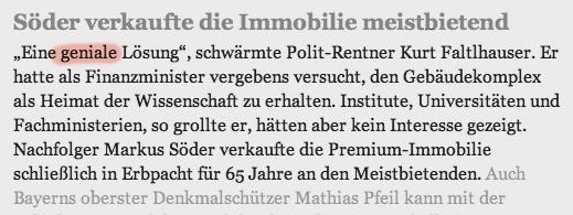 Münchner Merkur 26.4